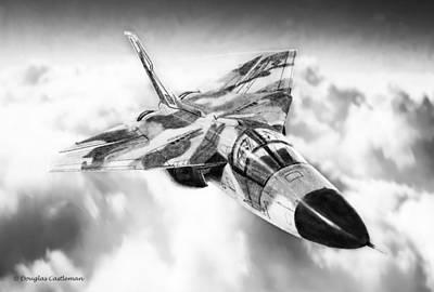 F-111 Poster by Douglas Castleman
