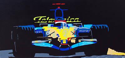 F1 Poster by Bryan Dubreuiel