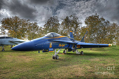 F18 Blue Angel Poster