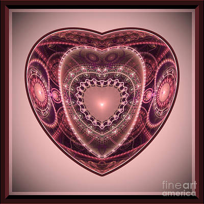 Faberge Heart Poster