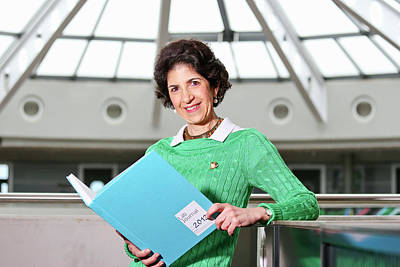 Fabiola Gianotti Poster by Cern