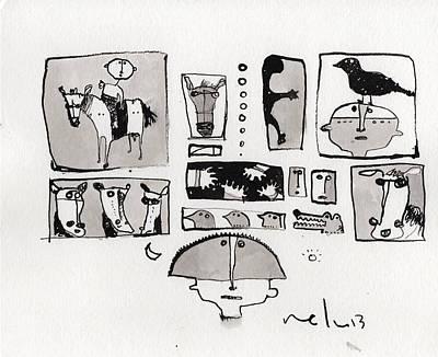 Fabula No. 1  Poster by Mark M  Mellon