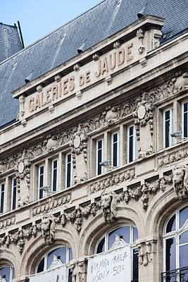 Facade Of A Department Store, Place De Poster