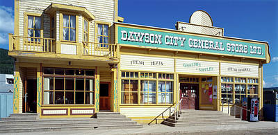 Facade Of A General Store, Dawson Poster by Panoramic Images