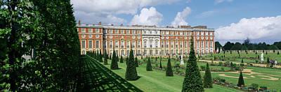 Facade Of A Palace, Hampton Court Poster