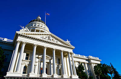 Facade Of The California State Capitol Poster by Panoramic Images