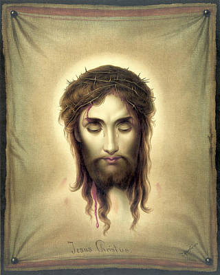 Face Of Christ Poster by Gary Grayson