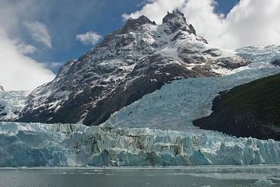 Face Of Glacier, Los Glaciares Poster by Howie Garber