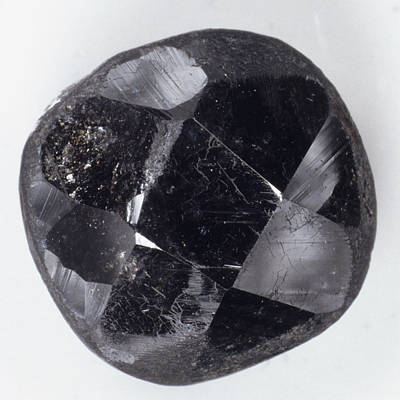 Faceted Bort Diamond Poster
