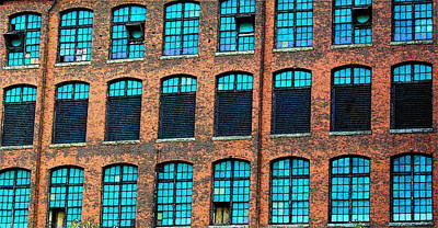Factory Windows Poster