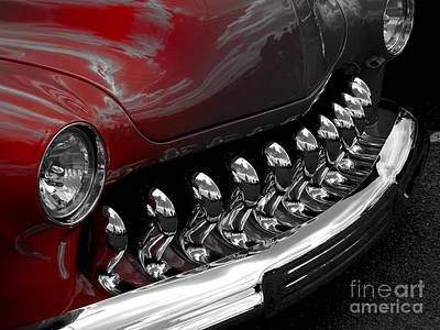 Faded Hotrod Poster by Chad Thompson