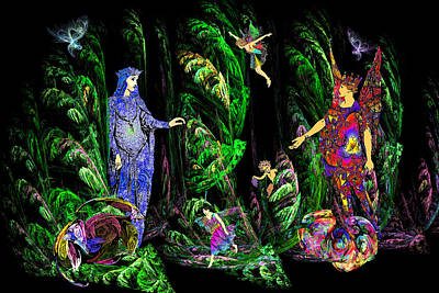 Faery Forest Poster by Lisa Yount