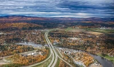 Fairbanks Alaska The George Parks Highway Poster