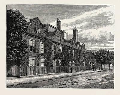Fairfax House, Putney, London, Uk, Britain Poster by English School