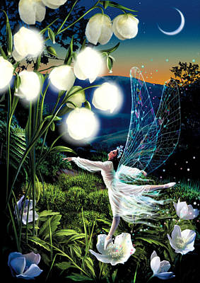 Fairy Dance Poster by Garry Walton