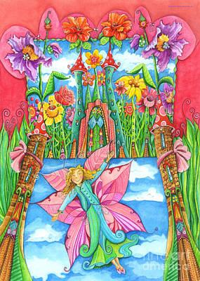 Fairy Godmother Poster by Sonja Mengkowski