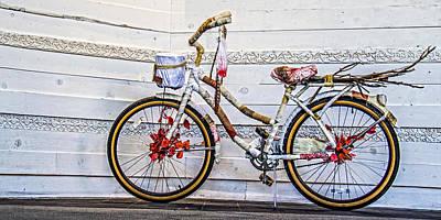 Fairy Tale Bike Flying Machine Poster by Ben and Raisa Gertsberg