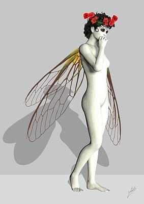 Fairy White  Poster