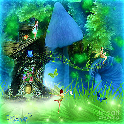 Fairyland - Fairytale Art By Giada Rossi Poster