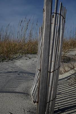 Fall At Atlantic Beach Poster by Bonita Hensley