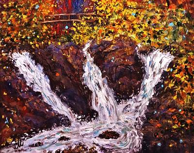 Fall At Eldorado Canyon.. Poster by Cristina Mihailescu