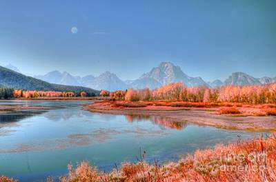 Fall At Oxbow Bend Poster