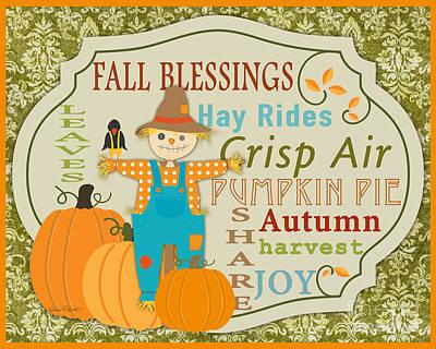 Fall Blessings-c Poster