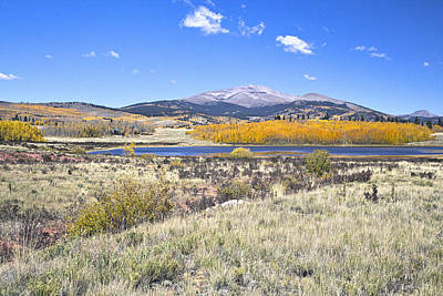 Fall Colors Fairplay Colorado Poster