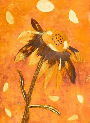 Fall Daisy Poster