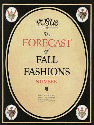 Fall Fashions Forecast Poster