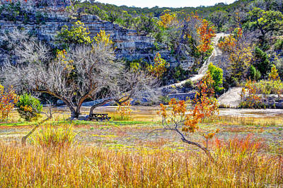 Fall In The Texas Hill Country Poster by Savannah Gibbs