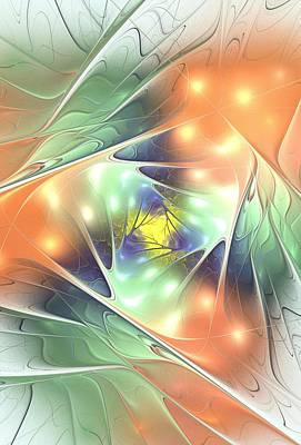 Fall Kaleidoscope Poster by Anastasiya Malakhova