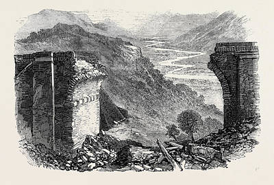 Fall Of A Viaduct On The Great Indian Peninsular Railway Poster