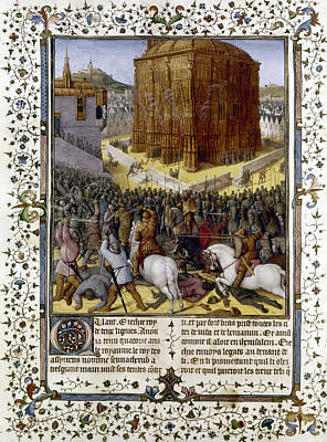 Fall Of Jerusalem Poster by Granger