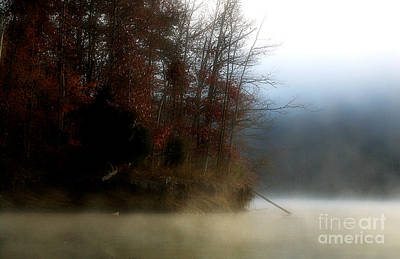 Fall On Melton Hill Lake II Poster by Douglas Stucky