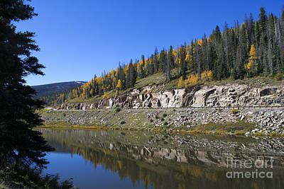 Fall On Wolf Creek Pass Poster by Jerry McElroy