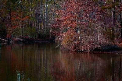 Fall Reflections Poster by Linda Unger