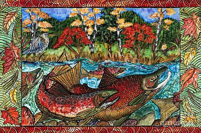 Fall Salmon Poster