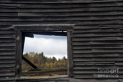 Fall Through The Hayloft Poster by Alana Ranney