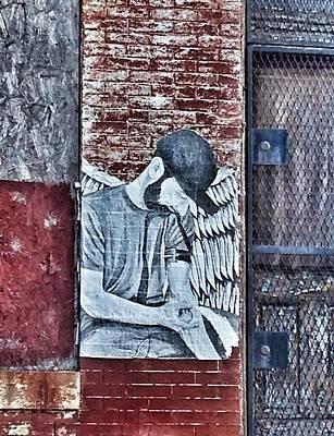 Fallen Angel Poster by Marianna Mills