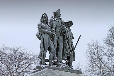 Fallen Timbers Monument  1888 Poster by Jack Schultz