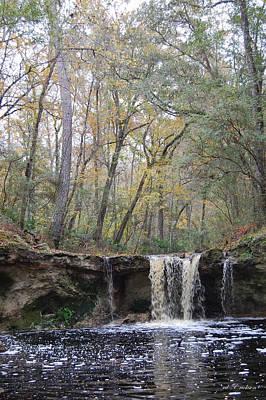 Falling Creek Falls - Columbia County Park Poster