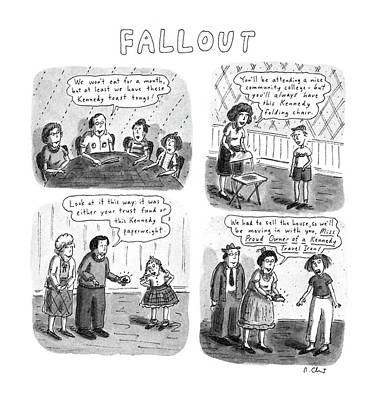 Fallout Poster by Roz Chast