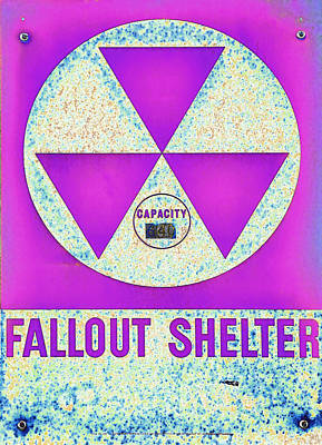 Fallout Shelter Abstract 7 Poster
