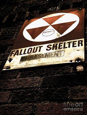 Fallout Shelter Poster by James Aiken