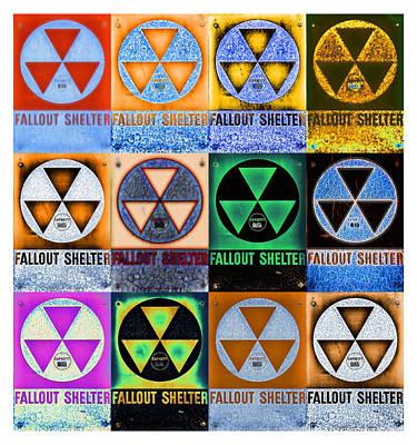 Fallout Shelter Mosaic Poster
