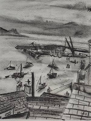 Falmouth Docks 3 Poster