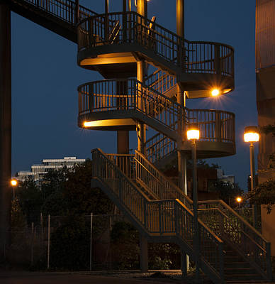 False Creek Stairway Poster