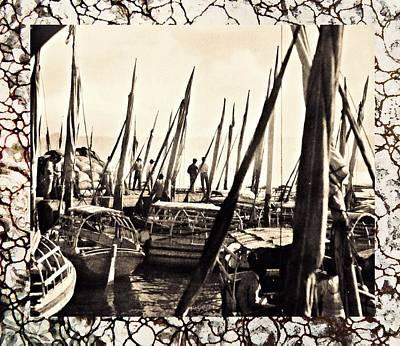 Falucas In Havana Harbor In 1898 2 Poster by William B Townsend