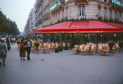 Famous Paris Restaurant - Fouquet's Poster